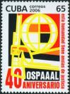 #CUB200602 - Cuba 2006 Ospaaal - 40th Anniversary : Fonference of Solidarity With the Peoples of Asia Africa and Latin America 1v Stamps MNH   1.04 US$ - Click here to view the large size image.