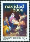#URY200624 - Uruguay 2006 Christmas - Tableau By Guido Reni 1v Stamps MNH   2.99 US$ - Click here to view the large size image.