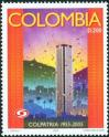 #COL200515 - Colombia 2005 Colpatria Bank - Colpatria Tower - Bogota 1v Stamps MNH   0.99 US$ - Click here to view the large size image.