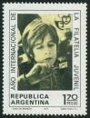 #ARG197402 - World Youth Philately Year. 1.70p MNH 1974   0.30 US$ - Click here to view the large size image.