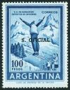 #ARG1968S10 - Argentina 1968 official Overprint on Sky Jumper (1961) 100p 1v Stamps MNH   0.30 US$ - Click here to view the large size image.