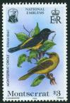 #MSR198408C - Montserrat 1984 Birds - National Emblem 1 Stamp MNH Cat #553   0.49 US$ - Click here to view the large size image.