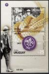 #URY200714MS - Uruguay 2007 the 100th Anniversary of Scouting S/S MNH - Scout   5.49 US$ - Click here to view the large size image.