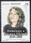 #URY201306 - Susan Dalmas 1v MNH 2013   1.50 US$ - Click here to view the large size image.