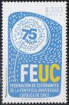 #CHL201307 - The 75th Anniversary of Feuc 1v MNH 2013   1.30 US$ - Click here to view the large size image.