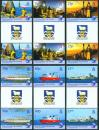 #FLK200701 - 20th Anniversary of Fisheries Protection 6v (2 Sets With Gutter) MNH 2007   8.99 US$ - Click here to view the large size image.