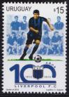#URY201504 - 100th Anniversary of Liverpool Football Club 1v MNH 2010   0.55 US$ - Click here to view the large size image.