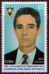 #CUB201508 - The 55th Anniversary of the Death of Manuel López Portilla 1v MNH 2015   0.65 US$ - Click here to view the large size image.