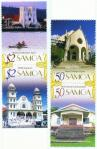 #WSM200703_B - Chruches of Samoa   2.89 US$ - Click here to view the large size image.