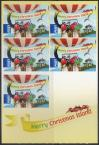 #CXR201304AD - Christmas Adhesive Stamps $1.8 X5 MNH 2013   9.00 US$ - Click here to view the large size image.