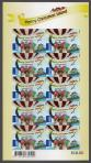 #CXR201304AD1 - Christmas Adhesive Stamps $1.8 X10 MNH 2013   12.00 US$ - Click here to view the large size image.