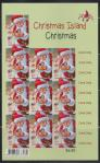 #CXR201405SH - Christmas Island 2014 Christmas 65c Self Adhesive Pan of 10 Stamps   3.00 US$ - Click here to view the large size image.