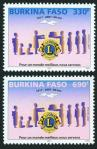 #BFA200701 - Burkina Faso 2007 Lion - Organization For Mankind 2v Stamps MNH   5.99 US$ - Click here to view the large size image.