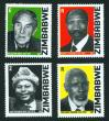 #ZWE200702 - National Heroes of Zimbabwe   5.99 US$ - Click here to view the large size image.